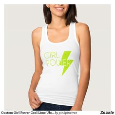 Shop Girl Power Tank Top created by LindyLueCollection. Personalize it with photos & text or purchase as is! Love T Shirt, My T Shirt, Racerback Tank Top, Athletic Tank Tops, How To Wear, Clothes, Donald Trump, Graphic Designers, Happy Thoughts