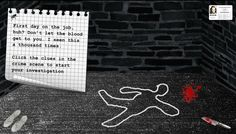 Get your badge and get ready to investigate the crime scene in Veronica Budnikas' role-playing game. You'll learn some crucial skills as you get to the bottom of the crime. Instructional Design, Investigations, Crime, Scene, Cards Against Humanity, Let It Be, Learning, Games, Veronica