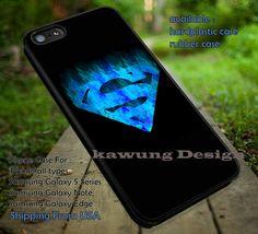Superman Blue Logo iPhone 6s 6 6s  5c 5s Cases Samsung Galaxy s5 s6 Edge NOTE 5 4 3 #cartoon #superman #superheroes dt
