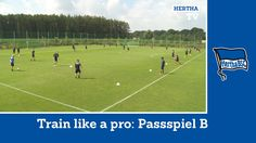 Training unter Jos Luhukay | Passpiel Variante B | Train like a Pro | He...