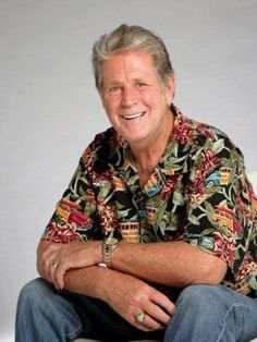 Brian Wilson was the chief songwriter in The Beach Boys, and has written many classic albums and singles with the band and on his own. Carl Wilson, Dennis Wilson, Boy Pictures, Boy Photos, Sir Paul, The Beach Boys, Handsome, Men Casual, Mens Tops