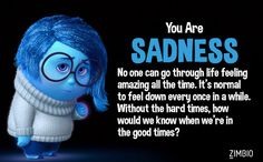 Which 'Inside Out' Emotion Are You? apparently im sadness