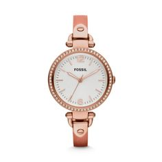 Georgia Watch – Rose Gold & White from Time by Fossil - R1,599 (Save 30%)