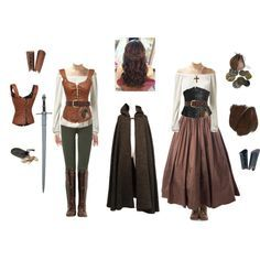A fashion look from August 2015 featuring Yves Saint Laurent, 7 For All Mankind leggings и John Fluevog boots. Browse and shop related looks. Medieval Dress, Moda Medieval, Medieval Clothing, Women's Clothing, Medieval Fashion, Clothing Stores, Costume Roi, Cosplay Costumes, Renaissance Costume