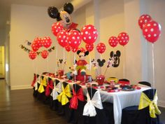 Mickey Mouse Birthday Party Ideas | Photo 1 of 21 | Catch My Party