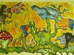 Mural para Centro Educativo