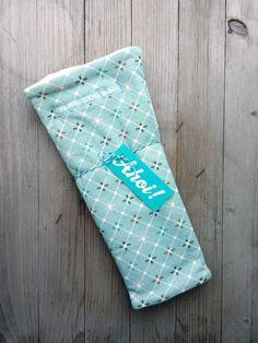 Armstulpen - Armstulpen ETTY Mint Stulpen Fleece Jersey - ein Designerstück von zwoelfte-koje-links bei DaWanda