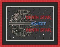 Death Star - Sweet Death Star- Funny Cross Stitch PDF Pattern Star Wars - Home Sweet Home