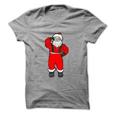 [New tshirt name printing] Dancing Santa Discount 5% Hoodies, Funny Tee Shirts