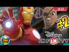 Disney Infinity PC 2.0 Marvel PC Gameplay #2 [Iron Man] PT BR