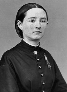 Mary Edwards Walker, not only the first female US Army surgeon, but the first woman to receive the Congressional Medal of Honor (1865)