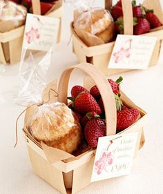 Add a touch of #Cornish whimsy to your big day with this afternoon tea basket #wedding #favour x