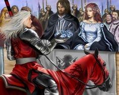 Lyanna, Ned, e Rhaegar by M.Luisa Giliberti©