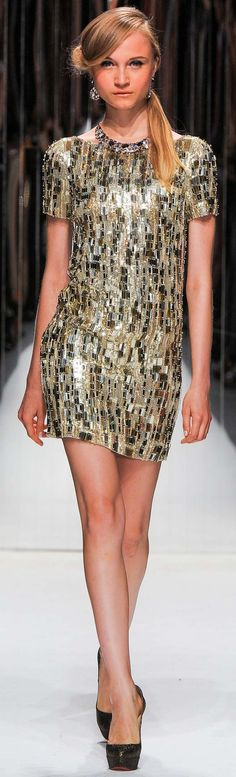 Jenny Packham Spring Summer 2013 Ready-To-Wear Collection - Dresses | #womencollection http://www.sweitrade.net