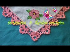 Sorry, This Video does not exist Crochet Poncho Patterns, Crochet Borders, Crochet Squares, Filet Crochet, Crochet Lace, Crochet Stitches, Learn Embroidery, Crochet Videos, Beautiful Crochet