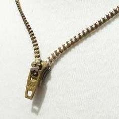 DIY Zipper Necklace