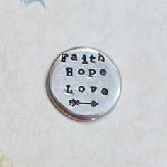 Q This too shall pass POCKET TOKEN CHARM hope for tomorrow rehab addiction