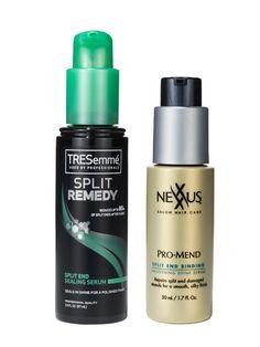 Breakthrough product: Tresemmé Split End Remedy line and Nexxus ProMend line