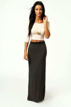 long skirt small top ...love it!