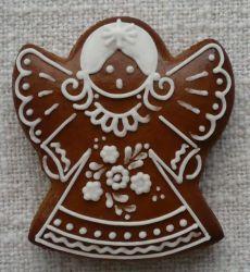 ru.pinterest.com 3d Christmas, Christmas Snacks, Christmas Gingerbread, Christmas Baking, Gingerbread Man Cookies, Christmas Sugar Cookies, Holiday Cookies, Angel Cookies, Iced Cookies