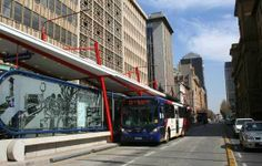 Rea Vaya - bus rapid transit in Johannesburg, South Africa
