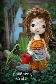 Crochetdoll ♡ lovely doll. Only inspiration, no pattern