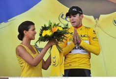Tony Gallopin in yellow