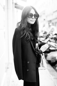 On the Street…..Outside Colette, Paris