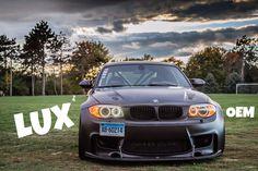 LUX BMW H8 V5 Color Adjustable Angel Eyes (e82, e60, e70, e71, e84, e89, e90, e92, e93)