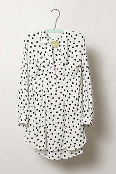 Anthropologie - Spotted Brunia Henley