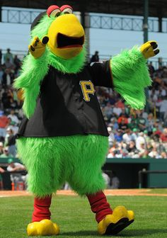 Image detail for -MLB Mascots - Pirate Parrot (Pirates) | Sports Illustrated Kids