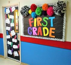 Cute, colorful, and eye-catching, this vibrant display created by Mrs. Kacey combines a very traditional early childhood theme (i.e. crayons/colors) with more modern patterns and three-dimensional...