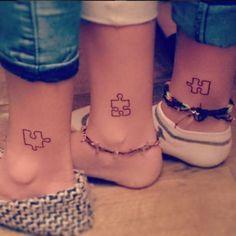 D'adorables tatouages de soeurs.© Instagram Lauren_fleck30