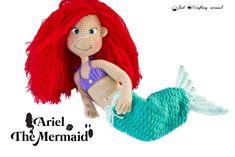 Ariel the Mermaid crochet pattern - Just Crafting Around