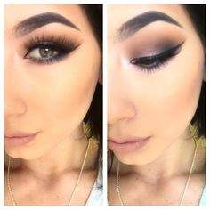 Hi everyone, This is a makeup tutorial using the semi-sweet chocolate bar palette. Makeup Geek, Love Makeup, Beauty Makeup, Hair Makeup, Beauty Tips, Chocolate Bar Palette Looks, Chocolate Bar Too Faced, Too Faced Semi Sweet, Chocolate Bar Eyeshadow