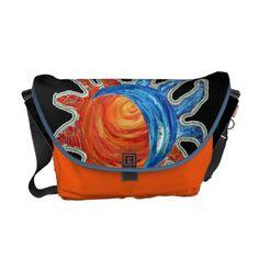Sun N Moon Rickshaw Messenger Bag