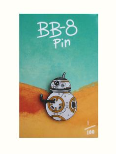 BB-8 Enamel Pin by HannahHitchman on Etsy