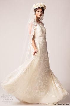 Temperley London Fall/Winter 2015 Wedding Dresses | Wedding Inspirasi