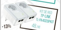 #Kit para Red PLC TP-Link TL-PA4020PKIT 500 Mbps. http://www.opirata.com/es/para-tplink-tlpa4020pkit-mbps-p-22400.html
