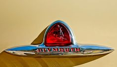 1948 Plymouth Deluxe Emblem Photograph by Jill Reger - 1948 Plymouth Deluxe Emblem Fine Art Prints and Posters for Sale