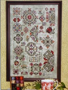 1000 images about rose wood manor cross stitch on