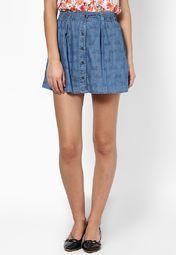 Ginger Blue Skirts Online Shopping Store