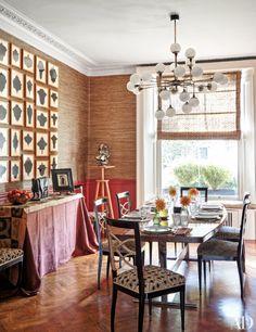 Inside Martina Mondadori Sartogo's Chic Family-Friendly London Home.
