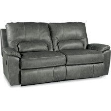 Dare we say the Charger is large and in charge? Both seats in this strong-looking sofa recline, so no one is left out. Which is a good thing, because how would you decide who gets to be the lucky one? And can we talk about that heavy topstitching? Nice.