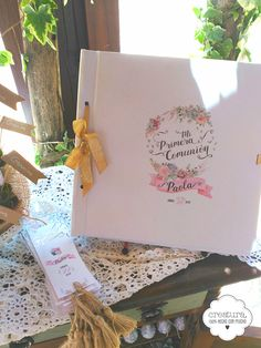 Album, First Communion, Mini, Gift Wrapping, Baby Shower, Aurora, Bb, Scrap, Gifts