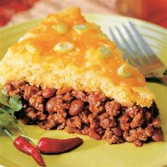 Craving tamale pie...just need to add some corn to the filling...yum-o!