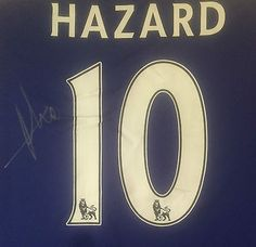 Eden hazard signed #chelsea #football #shirt ,  View more on the LINK: http://www.zeppy.io/product/gb/2/162203743602/