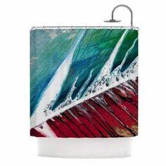 Desire to purchase Splish Splash by Steve Dix Shower Curtain