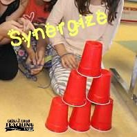 Synergism: The Cup Challenge- Follow up this activity with a discussion about synergy!