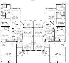 Haldimann Multi Family Home Plan 055D 0381   House Plans And More